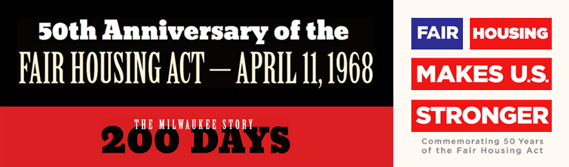 50th Anniversary of the Fair Housing Act - April 11, 1968